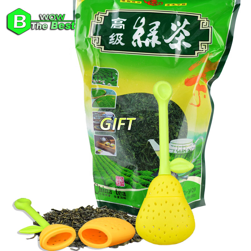 1pc Tea Strainer+ 2016 New High Aroma 250g Green Tea Biluochun Fujian Famous Tea lose weight product chinese tea