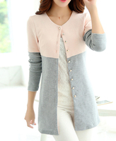 Plus Size Autumn Winter Long Cardigan Sweater Women Long Sleeve Knitted Female Tricot Women Outwear Clothes