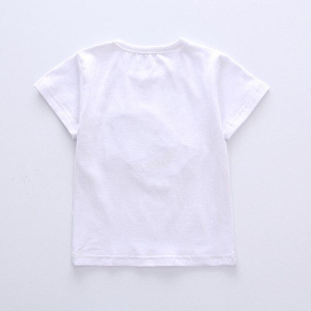 Newborn cap style white t-shirt+short 2pcs set 4