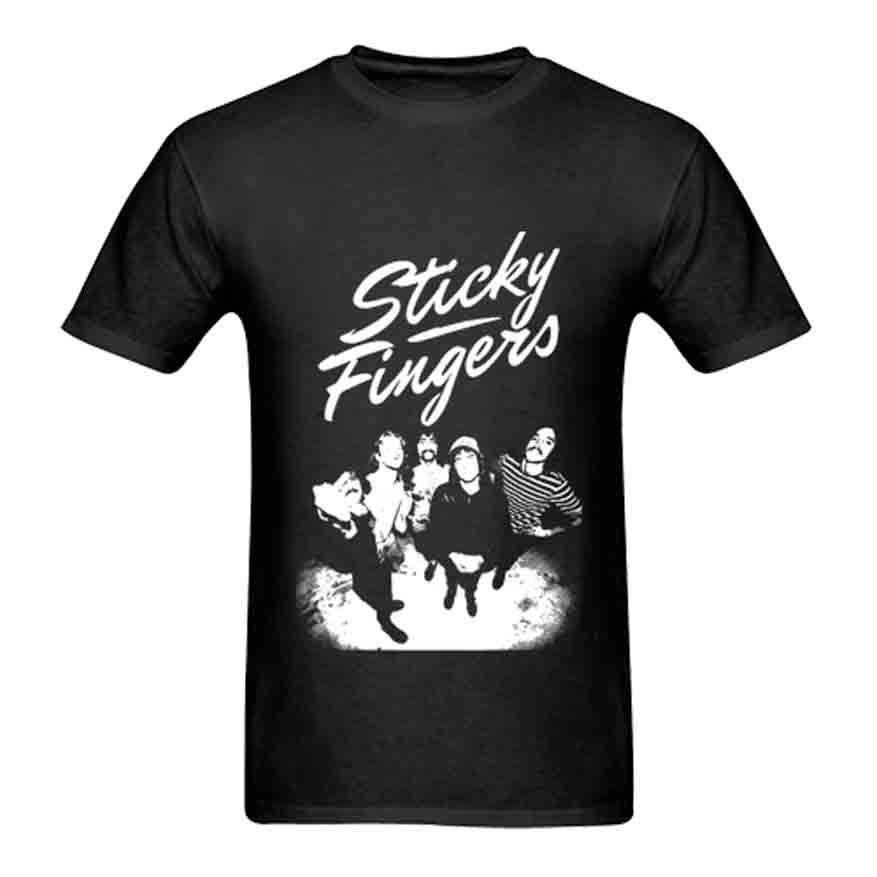 Sticky Fingers T-shirt Tee New Mens Tshirt Size S to 3XL