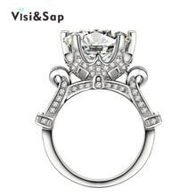 Bague бриллиантами bijoux cz позолоченный обручальное ясно свадьба винтаж кольца изделия