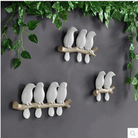 Creative Bird Model Animal Decorations European And American Style Home Furnishings