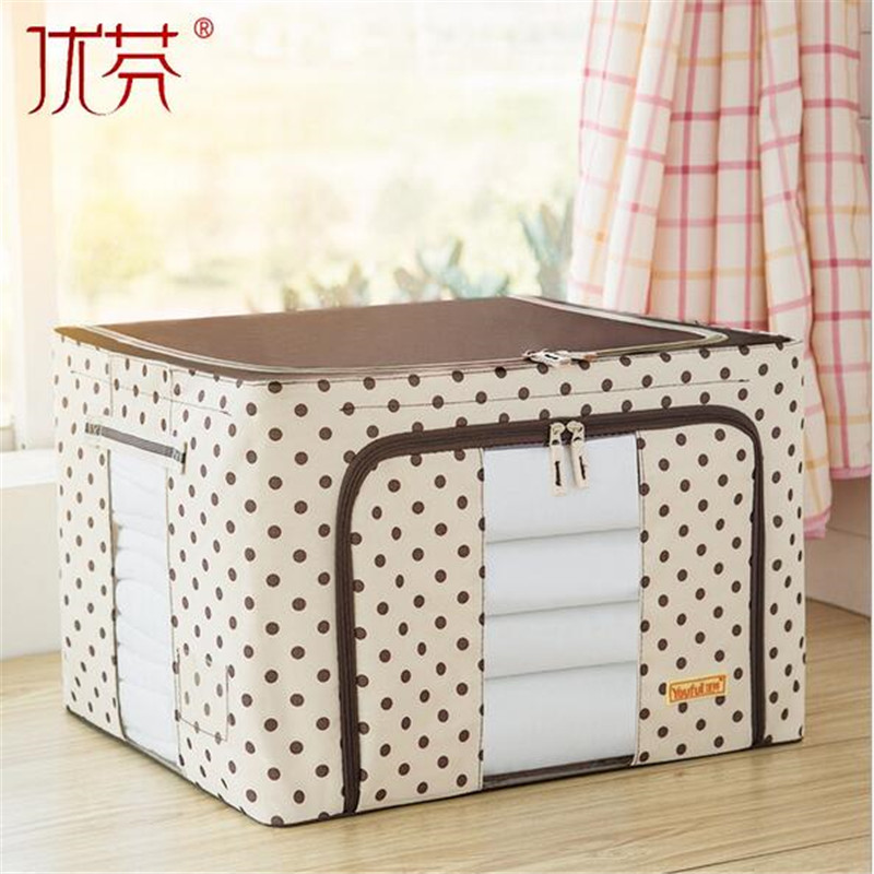 Aliexpress.com : Buy You fen Oxford cloth steel frame storage box ...