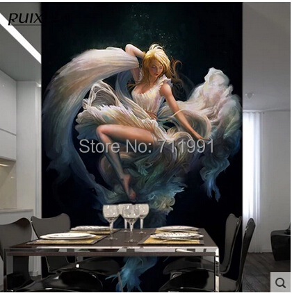 Custom large murals europe type restoring ancient ways is - What type of paint to use in bedroom ...