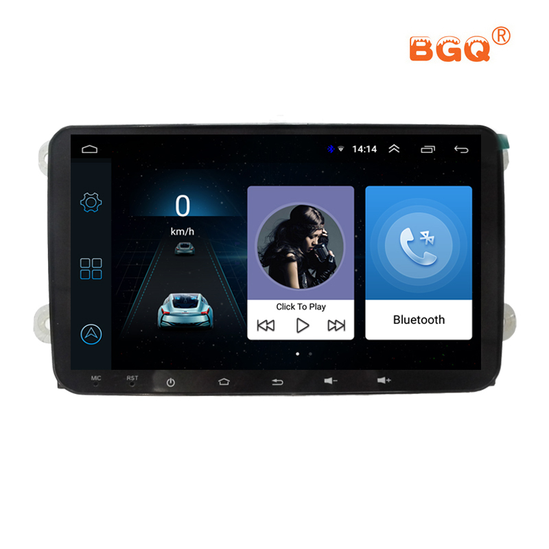 9 Car DVD Multimedia Player For VW/Volkswagen/POLO/PASSAT/CC/Golf/Skoda/Seat/Fabia With Wifi Radio GPS Bluetooth Android system isudar car multimedia player automotivo gps autoradio 2 din for skoda octavia fabia rapid yeti superb vw seat car dvd player