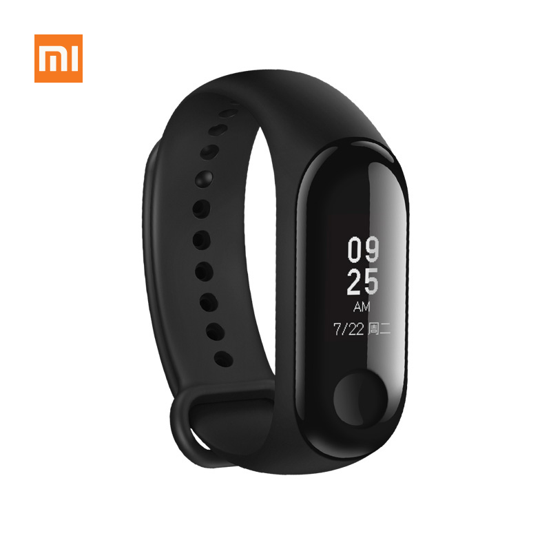 Original Xiaomi Mi Band 3 Fitness Tracker Smart Bracelet 0.78 OLED Touch Screen 50M Waterproof Miband 3 Smart Wristband
