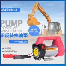 40/Min Fuel Oil Transfer 12 DC Pump 12V/24V/220V Diesel