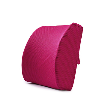 Soft Memory Foam Lumbar Support Back Massager Waist Cushion Pillow For Chairs in the Car Seat Pillows Home Office Relieve Pain 1
