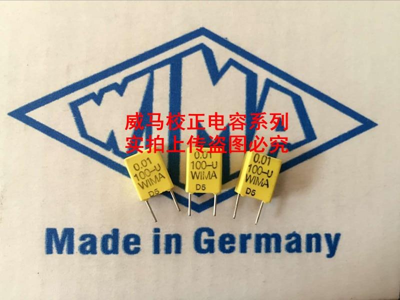 2019 Hot Sale 10pcs/20pcs Wima Germany Yellow Capacitor Fkc2 100v 0.01uf 100v 103 10n P: 5mm Audio Capacitor Free Shipping