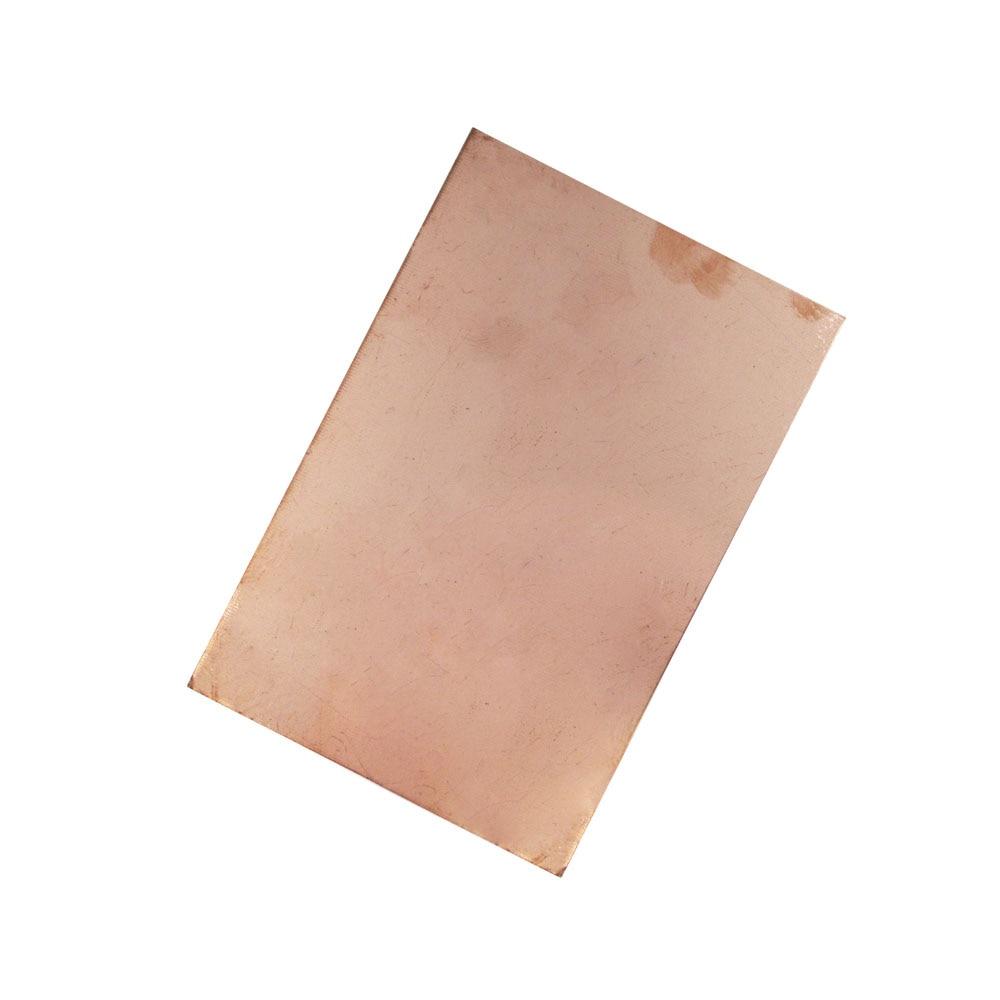 1PCS/LOT FR4 Blank Copper Clad Circuit Board Single Side 10x15cm PCB 1.5~1.6MM