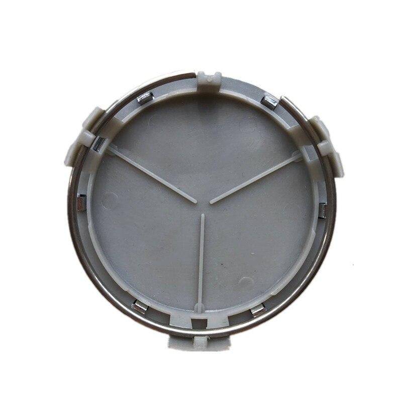 4 шт. 75 мм колеса автомобиля центр Кепки s Ступица колеса обод Кепки эмблема значок для Mercedes G M R S W202 CLK C260 W203 W204 стайлинга автомобилей