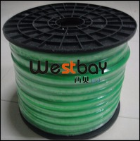 Waterproof Green Led Neon Flex For DIY Lights Solution Green Pvc Skin Neon 220V 50M Lot