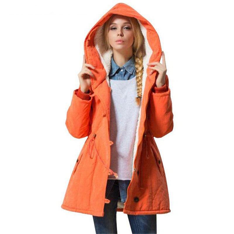 Hot Sale Plus Size Winer Coat Women Winter Jacket Cotton Padded Female Long Section Cashmere Coat Winter Jackets Parka 4XL C1612