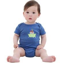 2017 Baby Romper Summer Boy Girl Newborn Jumpsuits & Rompers Cotton Newborn Underwear Spring Baby Clothing