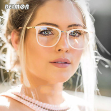 Spectacle Frame Women Eyeglasses Computer Prescription Myopia Optical For Female Eyewear Clear Lens Acetate Glasses Frame RS463
