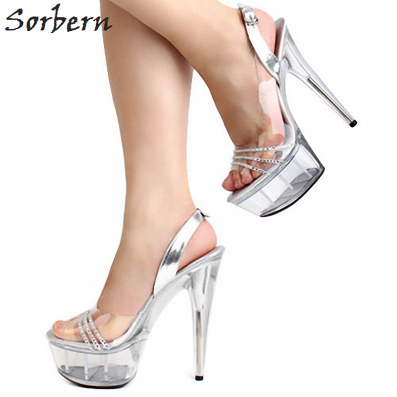 9bc427b783 Sorbern Red Strange Style Wedges Women Sandals With Heels Size 10 High Heel  Platforms Cross-Strap 16Cm Luxury Dress Shoes WomanUSD 101.37/pair