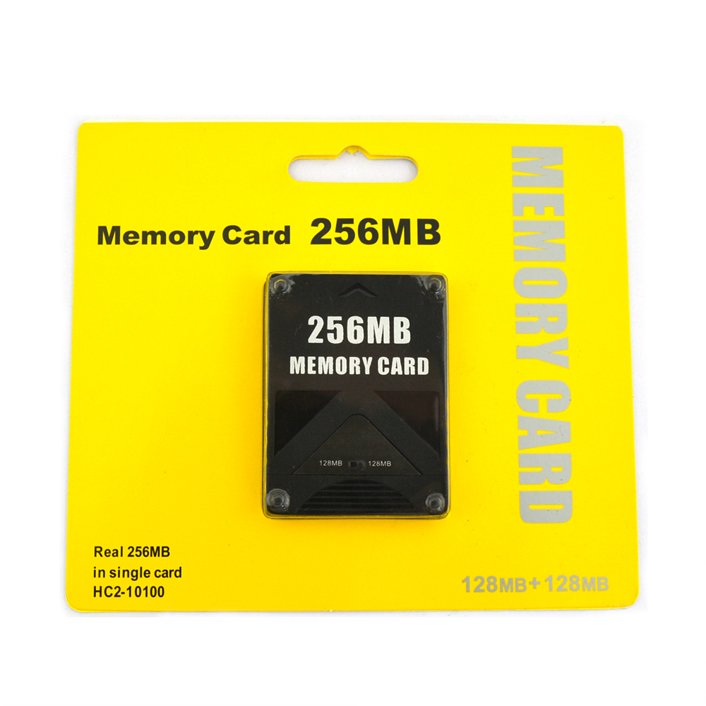 50pcs High Quality 256MB Memory Card for Sony Playstation 2 for PS2