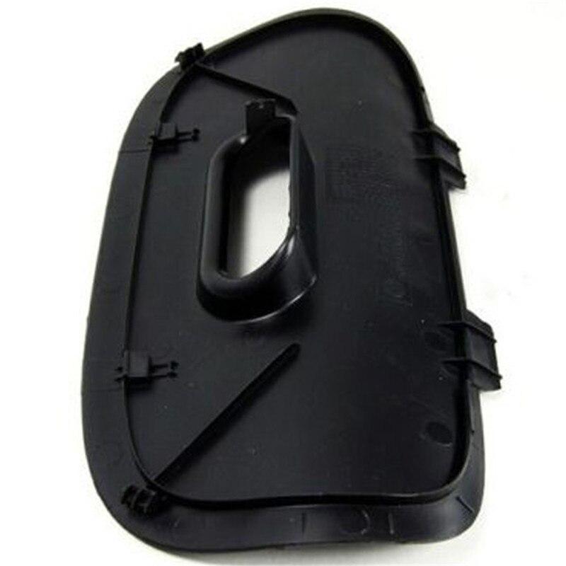 Black Rear Bumper Cover Flap Trailer Hitch Mount High Quality Plastic Rear Bumper Cover For BMW X5 E53 00-06 51128402327
