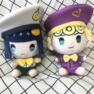 Image 5 - Anime JoJos Bizarre Adventure Golden Wind Bruno Bucciarati Cosplay Cute Plush Stuffed Doll Throw Pillow Kawaii Toy Xmas Gifts