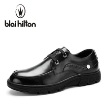 Blaibilton платформа Роскошные Мужская обувь Повседневное Оксфорд натуральная кожа классический мужской элегантные свадебные офисные платье в деловом стиле Формальные