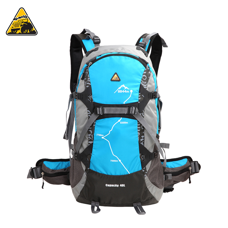KIMLEE 35L Men Women Sport Backpack Bag 3D Waterproof Camping Mountaineering Travel Hiking Backpack with Rain Cover 5 Colors kimlee top quality 35l sport bag waterproof outdoor camping backpack professional mountaineering rucksacks with rain cover
