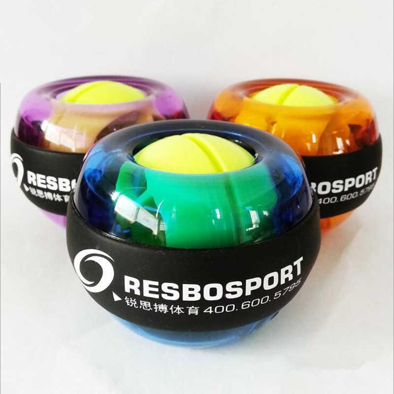 Resbo Мощность шар на гироскопе гироскопа Шар для разминки запястий Spinner, который поможет избавиться от Фитнес ослабления мускулы ручной тренажерный зал Мощность мяч силы гироскоп