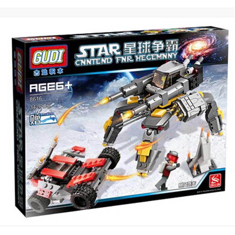 ФОТО gudi star wars science fiction plane building blocks assembled storm hit sci-fi planet hegemony model