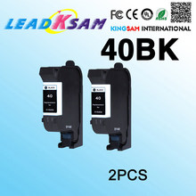 2X Black Ink Cartridge Kompatibel untuk HP40 C51640 Deskjet 1200C 820C 850C 855C 870C Office Jet 1150 dengan Kartrid Cetak(China)