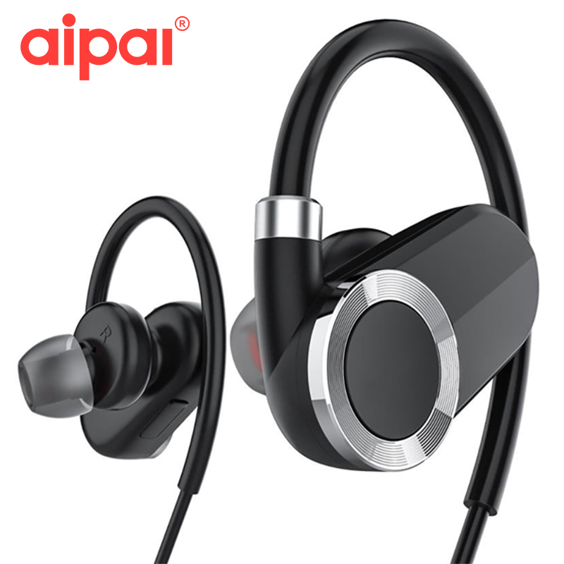 Wireless Earphone Bluetooth V4.1 Pro HD Ear Hook Earphone Waterproof Sports Music Headset With Mic For iPhone android baby rompers 2015 autumn winter new long sleeve cotton infant boy girl overalls infantil bebe menino menina jumpsuit kf310