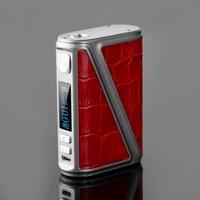 New Arrive 233W Warlock Z BOX Mechanical Mod Box 233W TC Box Mod Leather Design Big