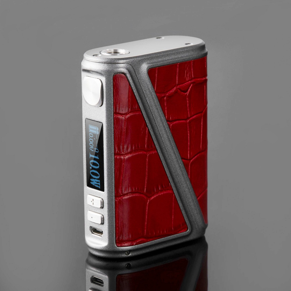 New Arrive 233W Warlock Z-BOX Mechanical Mod Box 233W TC Box Mod Leather Design Big Power Electronic Cigarette Mod