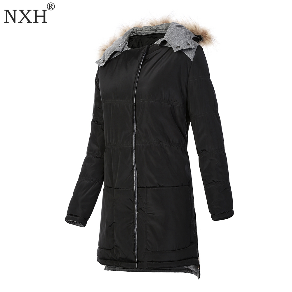 Down Filled Coat Womens with Fur Hood Promotion-Shop for ...