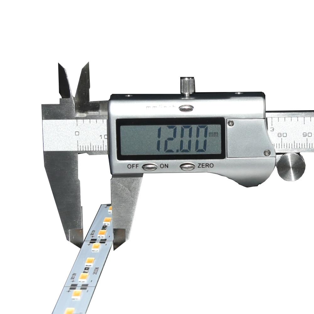 100 pcs/lot Super Lumineux DC12V 72 leds SMD 5630 5730 En Alliage D'aluminium Rigide light Bar Rigide Led Bande lumière 100 cm * 1.2 cm * 0.1 cm