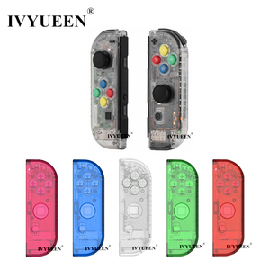 Image 1 - IVYUEEN for Nintendoswitch NS Joy Con Controller Transparent Clear Replacement Housing Shell for Nitendo Switch Joy Con Cover