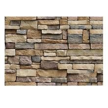 3D wall sticker Waterproof TV background wallpaper Foam brick pattern Rock Stone   self-adhesive wallpaper 45 * 100 cm