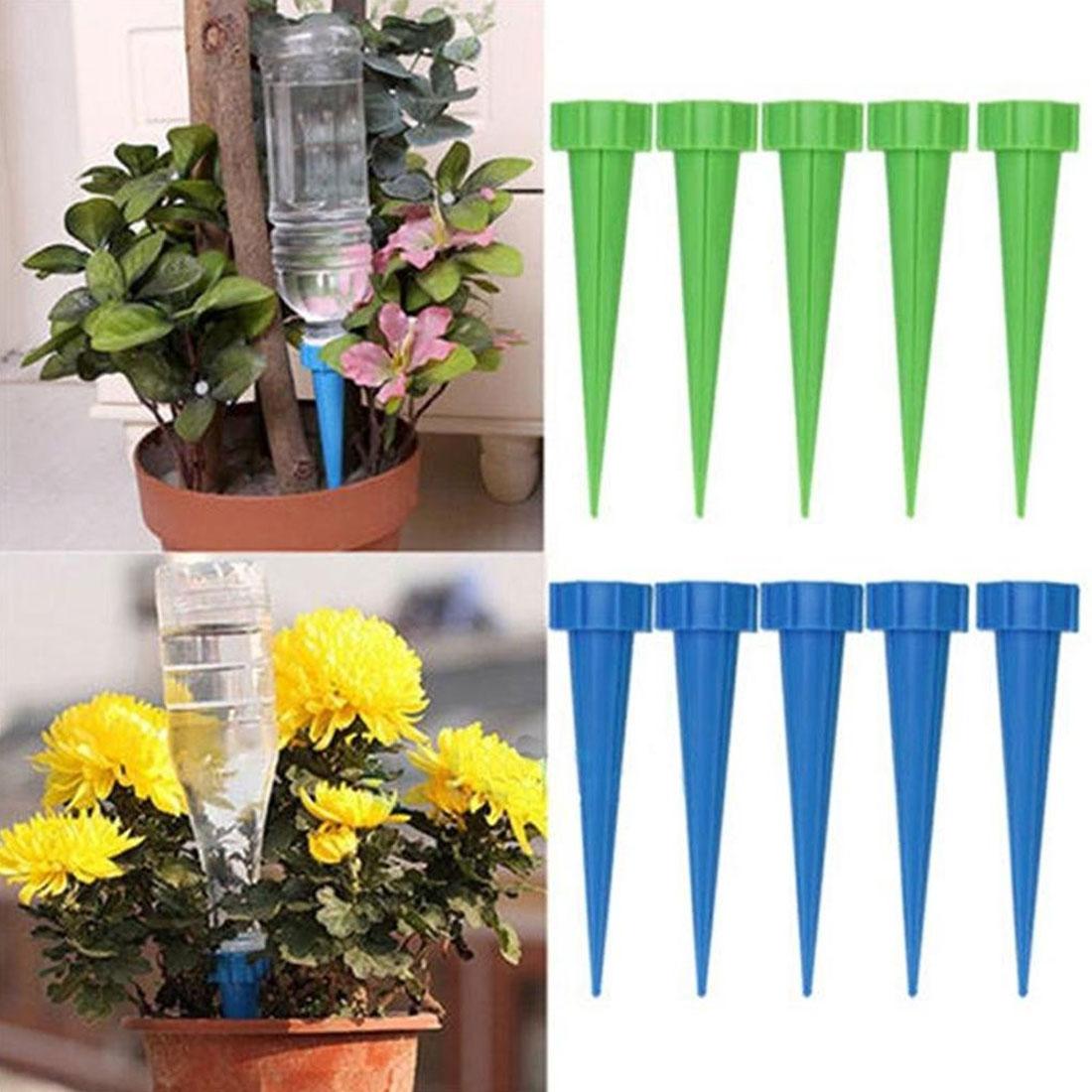 Rispettoso Automatico Garden Cono Spike Watering Sprinkler Per Le Piante Vaso Di Fiori Bottiglia Di Irrigazione Dispositivo