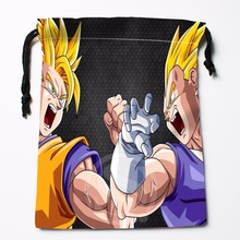 Fl-Q39 New anime Dragon Ball Z #28 Custom Logo Printed  receive bag  Bag Compression Type drawstring bags size 18X22cm 711-#F39