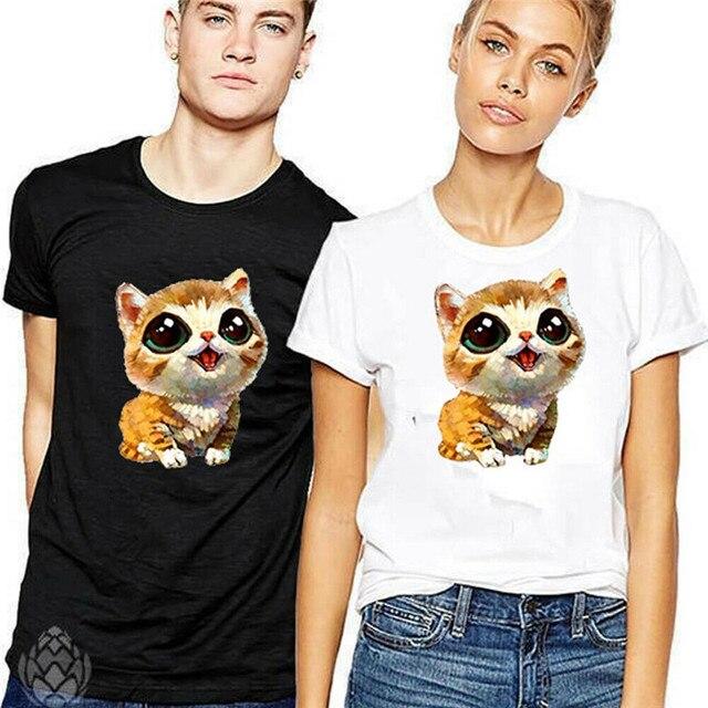031774a24d New Summer Couple T-Shirt Unisex Women Men Cozy Matching Clothes Tee Tops  Blouse