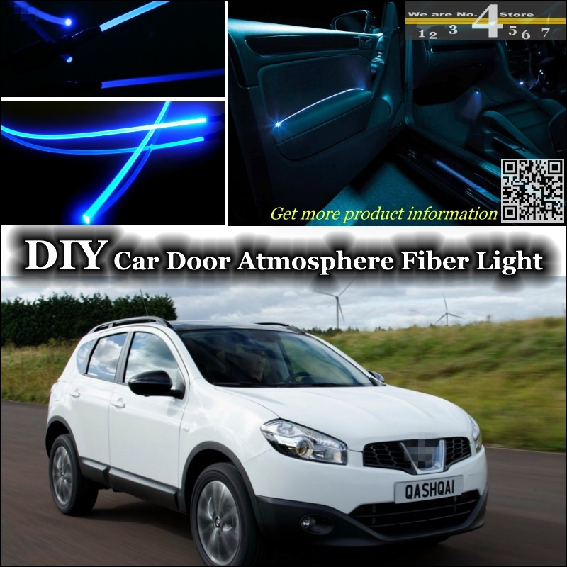 for nissan qashqai dualis j10 j11 interior ambient light. Black Bedroom Furniture Sets. Home Design Ideas