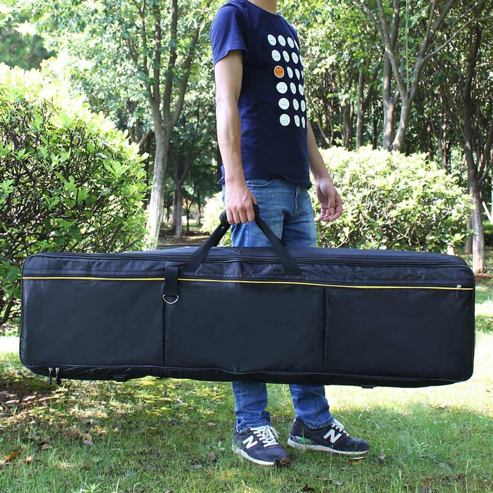61 76 88 مفتاح لوحة المفاتيح سميكة لوحة المفاتيح الإلكترونية البيانو حقيبة غطاء للبيانو الإلكترونية