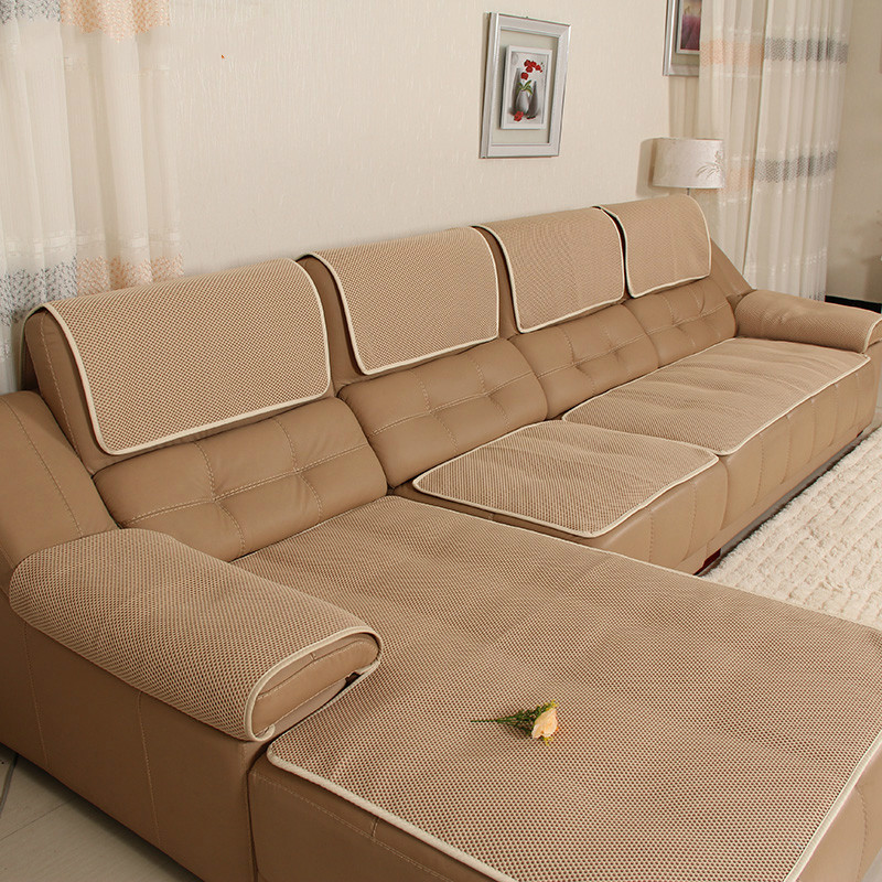 Good Quality Leather Sofa: High Quality Leather Sofa Cover Summer Chair Seat Couch