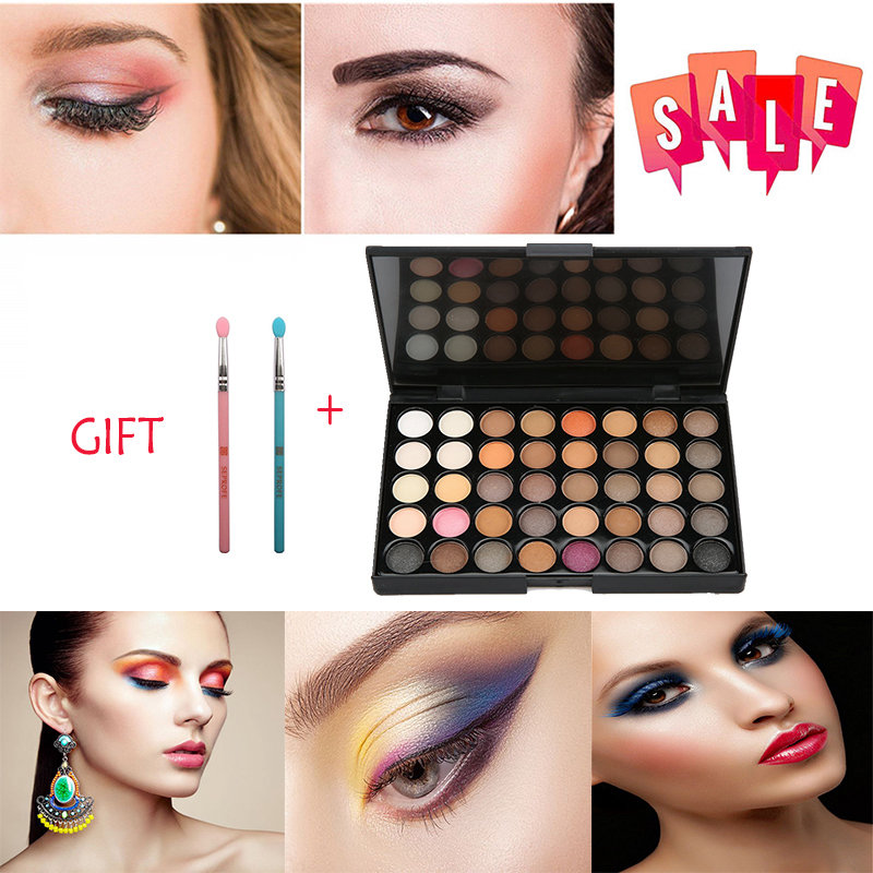 Eye Shadow Cosmetic Matte Eyeshadow Cream Eye Shadow Makeup Cosmetic Pressed Glitter Palette Eyeshadow Palette Sombras Maquillaje #3 Less Expensive Beauty Essentials