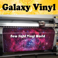 Galaxy Vinyl Wrap Sticker Bomb Sticker Bombing Galaxy Graffiti Vinyl Wrap Bubble Free Auto Graphics Size:1.50*30m/Roll