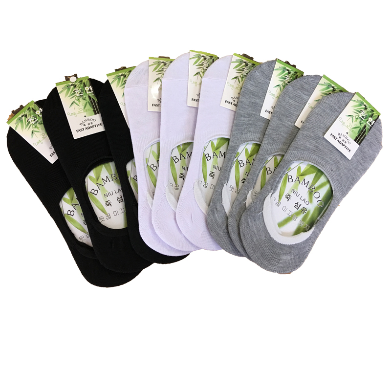 3Pairs Hot Sale Good Quality Boat Socks New Summer Style Women Low Socks Invisible Cotton Socks Slippers Sokken Calcetines Mujer