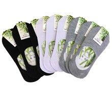 Meias baixas femininas para verão, 3 pares meias barco de boa qualidade meias baixas invisíveis de algodão mulher