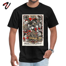 Design The goonies Mens T Shirt Funky Summer/Fall Short Naruto O Neck Green Day Printed On Tee-Shirt