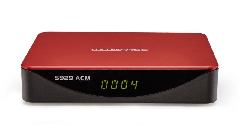 NOVA ATUALIZAÇÃO DA MARCA TOCOMFREE TOCOMFREE-S929-ACM-1-pcs-Am-rica-Do-Sul-Receptor-de-Sat-lite-DVB-S2-Sintonizador