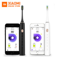 Xiaomi Mijia Toothbrush Soocare X3 Soocas Upgraded Electric Sonic Smart Clean Bluetooth Waterproof Wireless Charge Mi
