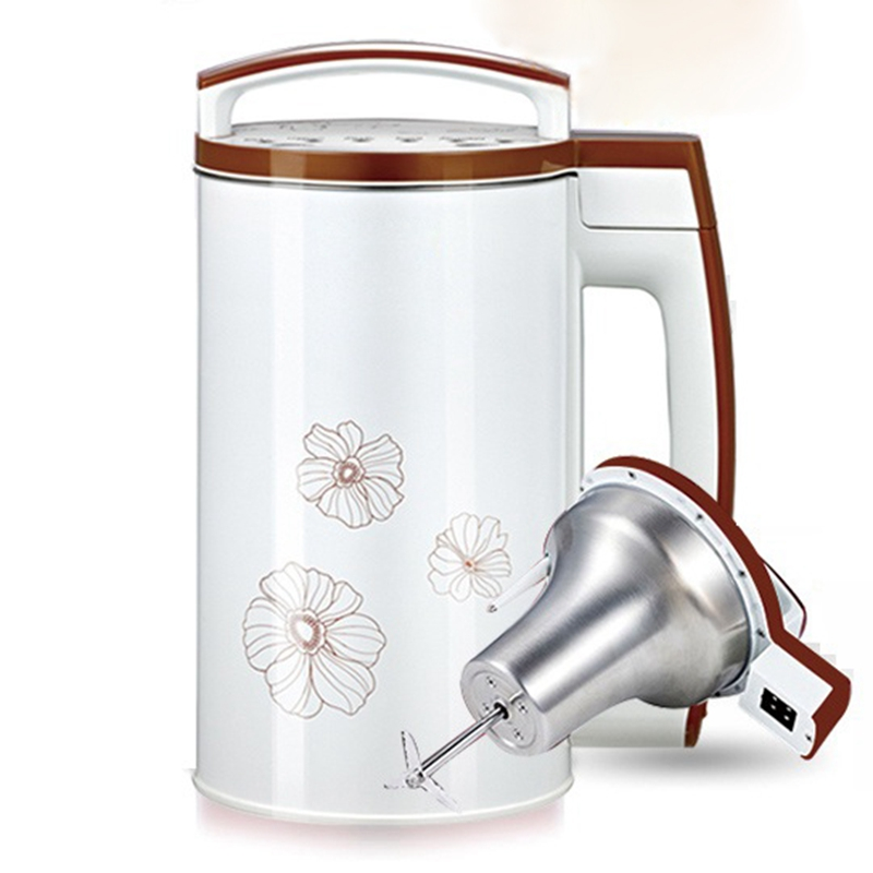 HIMOSKWA 110 В 1.2L автоматическая машина соевого молока Цитрусовые Лимон соковыжималка овощи фрукты Extractor Еда Blender фильтр Бесплатная