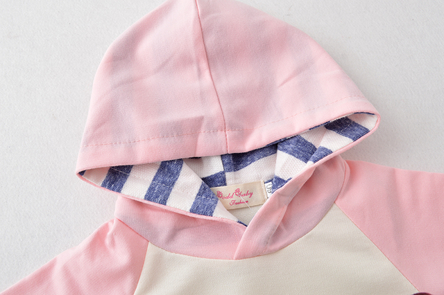 2019 New Autumn Newborn Baby Boy Girls Clothes Cute Hooded Sweatshirt Tops + Cotton Pants 3pcs Outfit Kids Infant Clothing Set 4